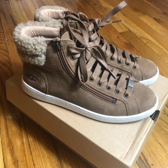 UGG Shoes | Ugg Olive High Top Sneaker